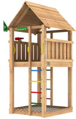 Lekställning - Jungle Cabin