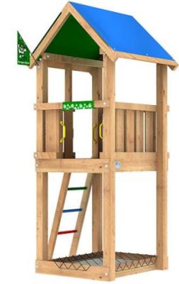 Lekutrustning - Jungle Castle