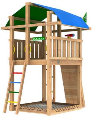 Lekställning - Jungle Fort