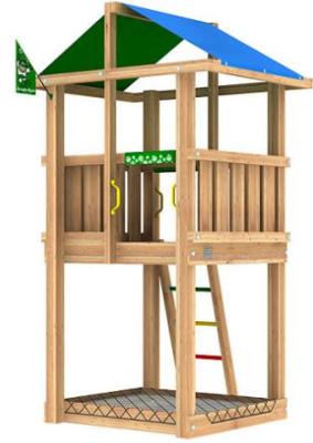 Lekställning - Jungle Hut