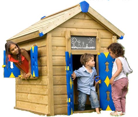Lekstuga trä - Jungle Playhouse