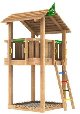 Lekplatsutrustning - Jungle Shelter