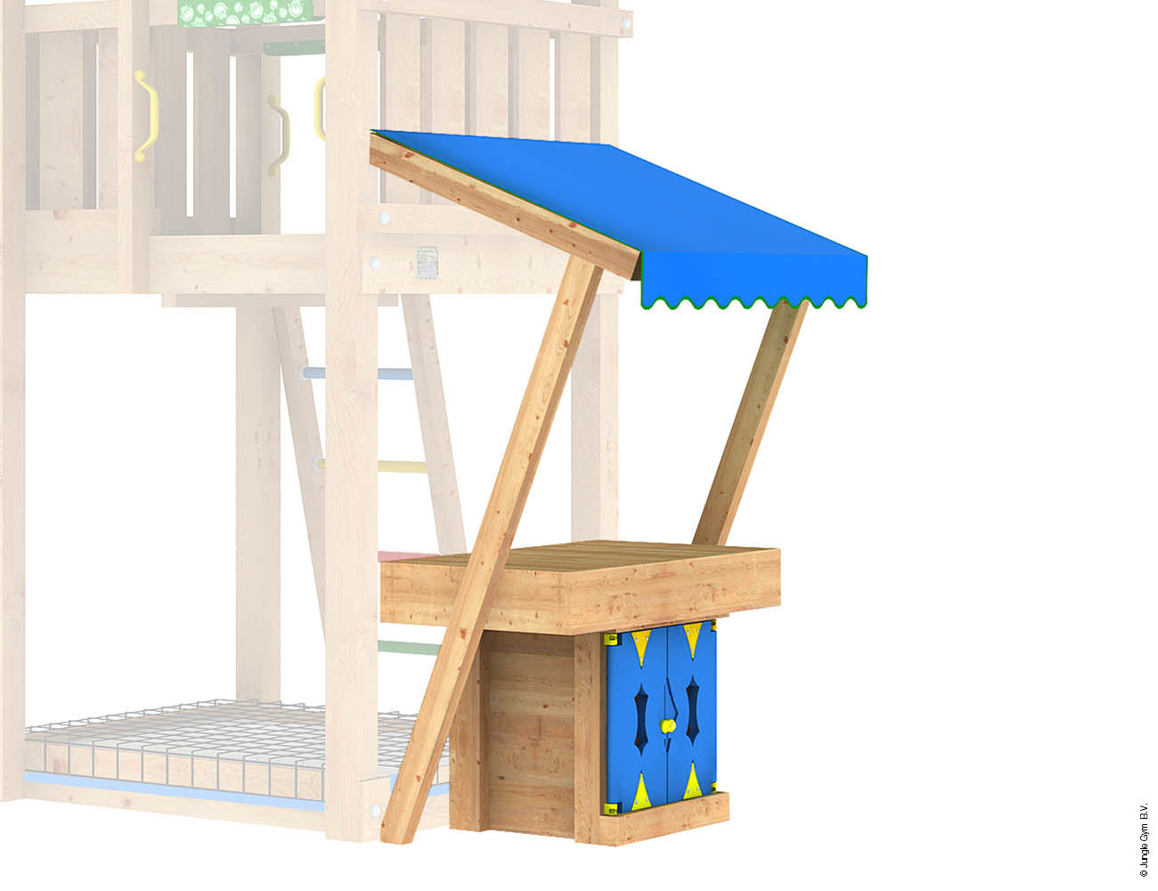 Jungle Gym Module Mini Market