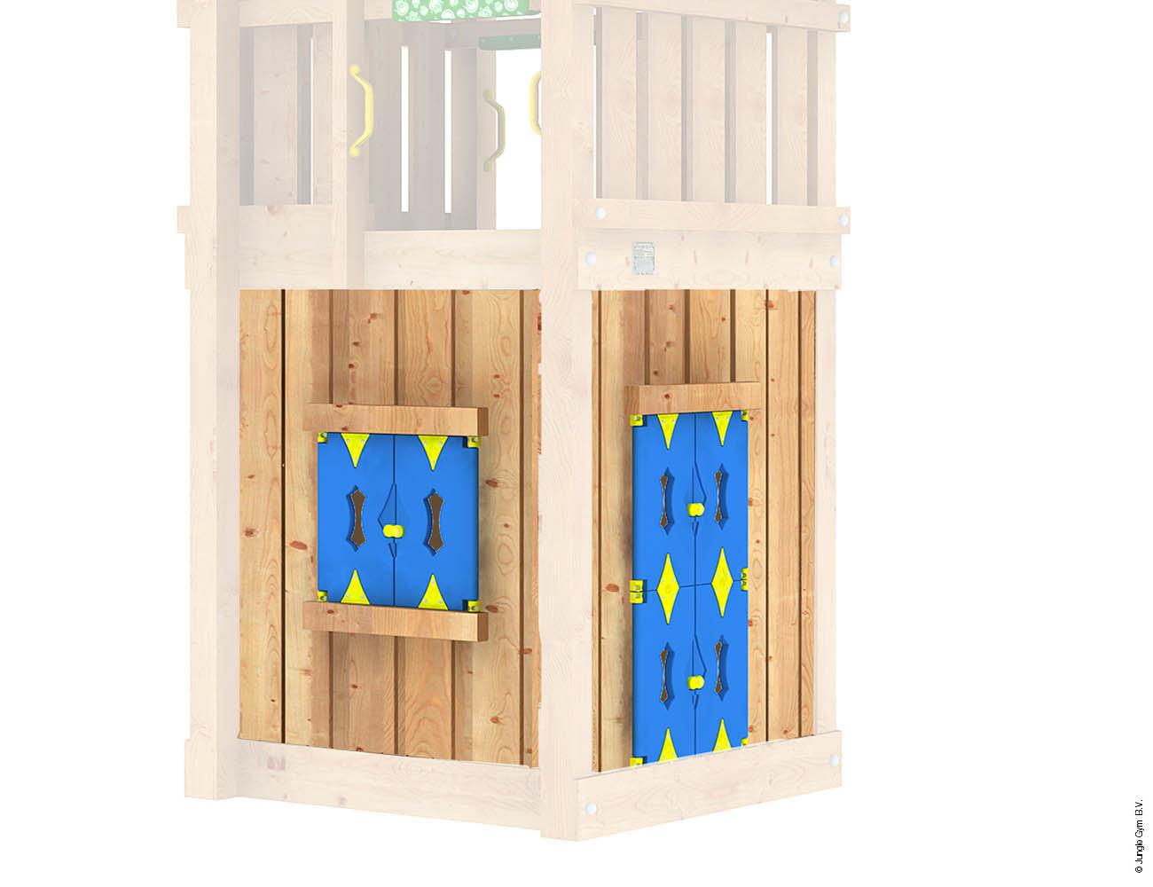 Jungle Gym Module Playhouse